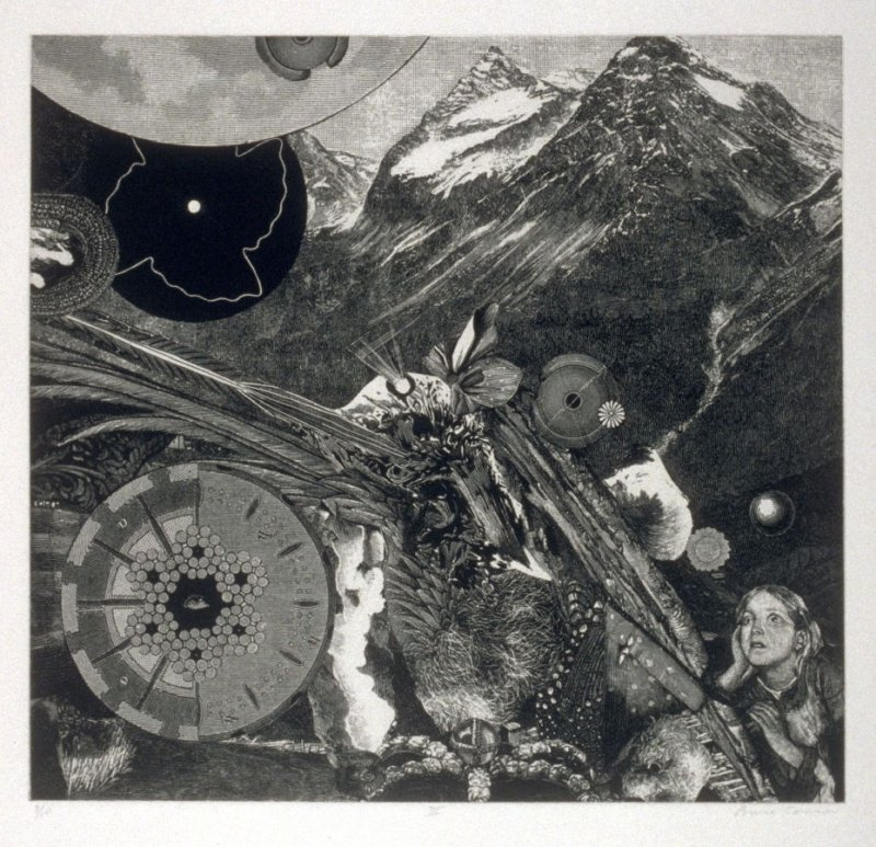 Plate III, from the book, Dennis Hopper/One Man Show/Volume Three