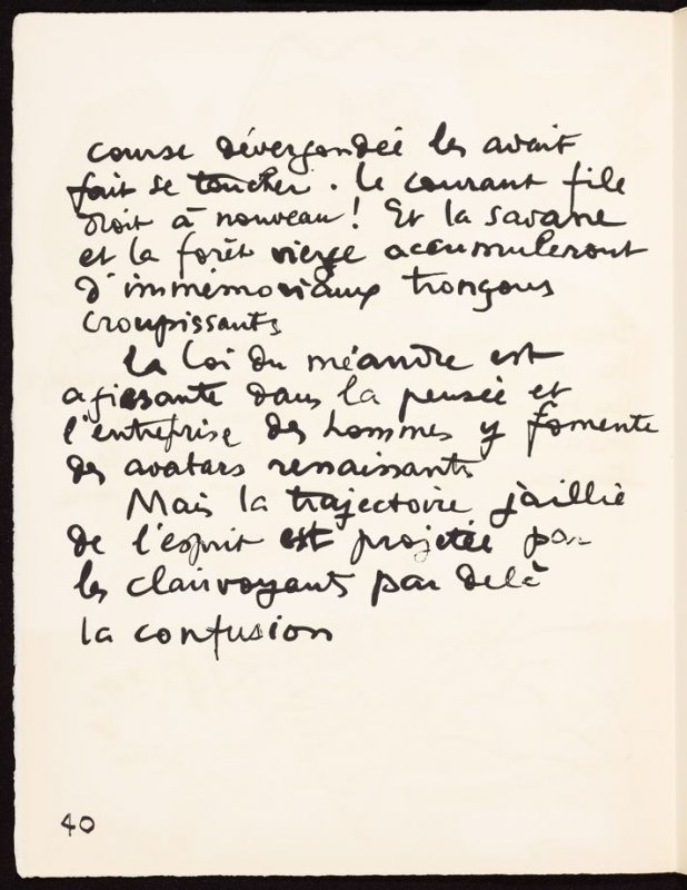 Untitled, pg. 40, in the book Le Poéme de l'angle droit by Edmond Jeanneret (Le Corbusier) (Paris: Tériade Éditeur, 1955)