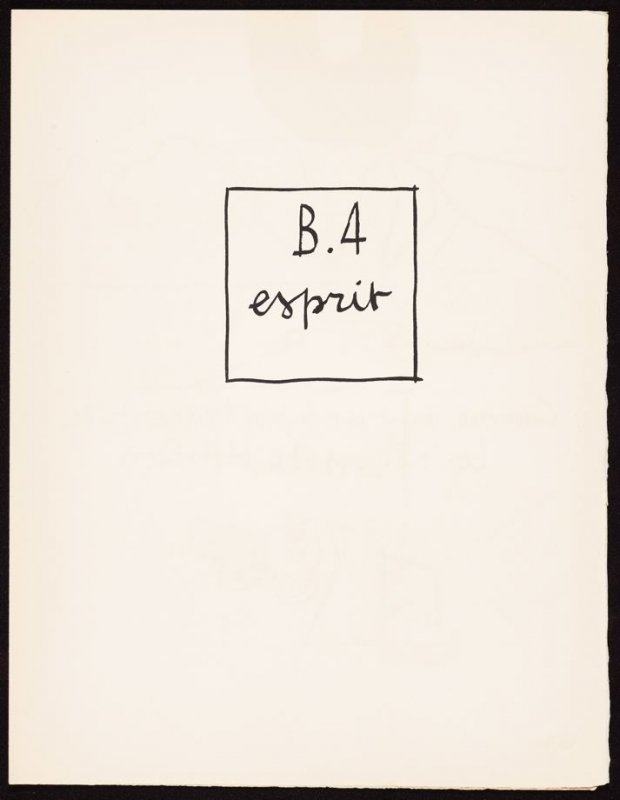 Untitled, pg. 63, in the book Le Poéme de l'angle droit by Edmond Jeanneret (Le Corbusier) (Paris: Tériade Éditeur, 1955)