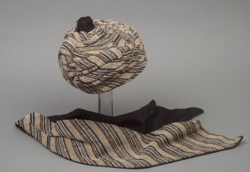 Woman's hat and scarf