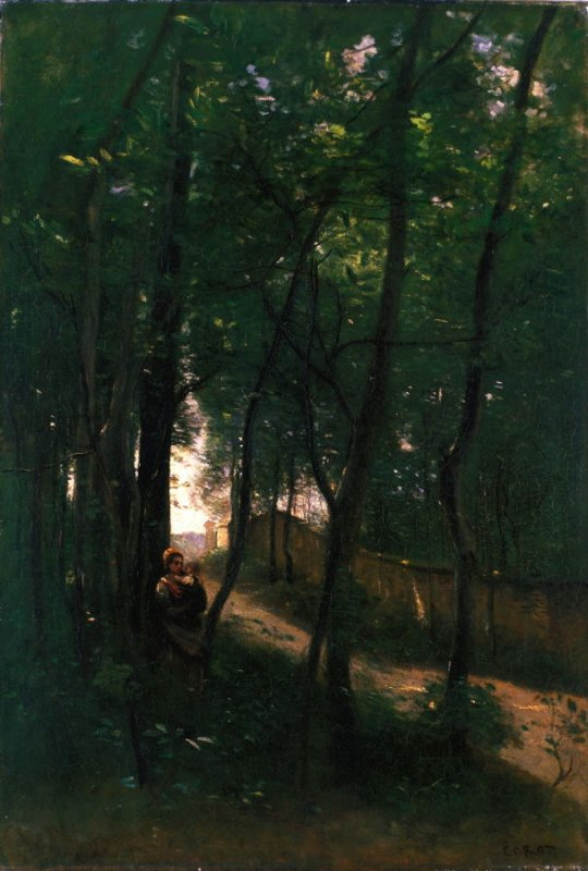 Landscape with Woman and Child