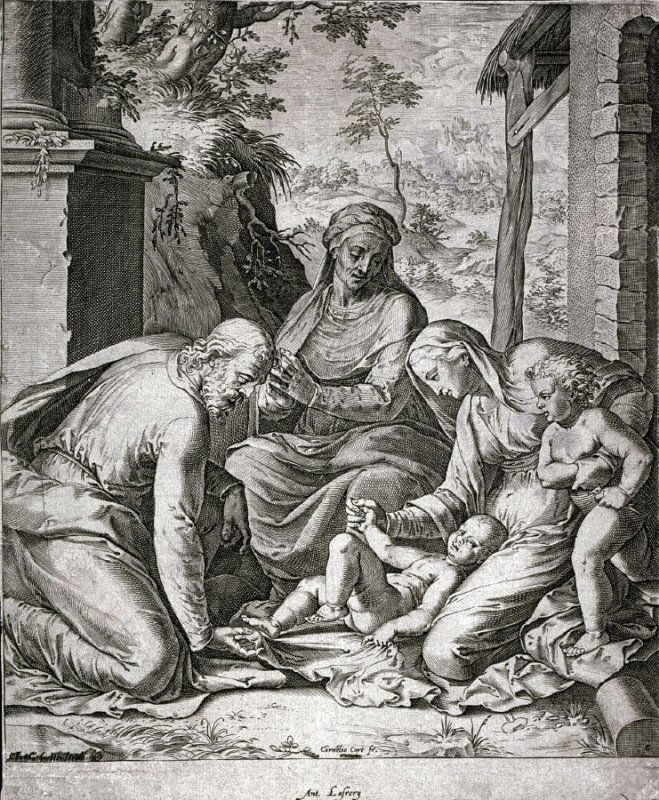 Holy Family with St. Anne and the Young St. John