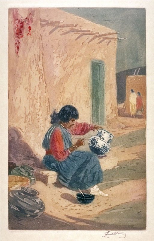 The Pottery Painter