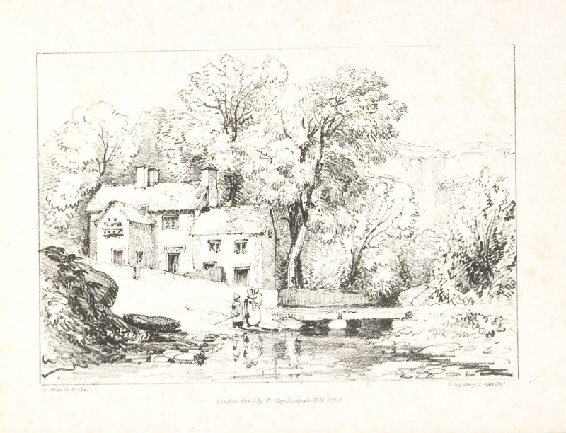 Illustration 4 in the book A Series of Progessive Lessons intended to Elucidate the Art of Landscape Painting (London: T. Clay, 1828)