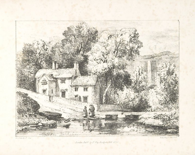 Illustration 5 in the book A Series of Progessive Lessons intended to Elucidate the Art of Landscape Painting (London: T. Clay, 1828)