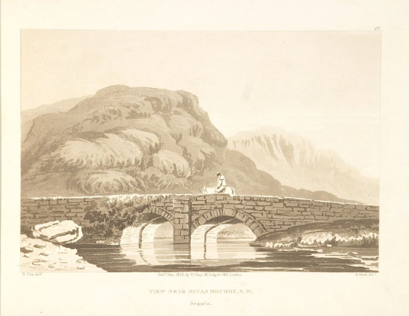 Illustration 9 in the book A Series of Progessive Lessons intended to Elucidate the Art of Landscape Painting (London: T. Clay, 1828)