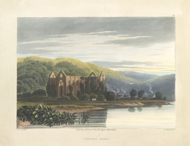 Illustration 16 in the book A Series of Progessive Lessons intended to Elucidate the Art of Landscape Painting (London: T. Clay, 1828)