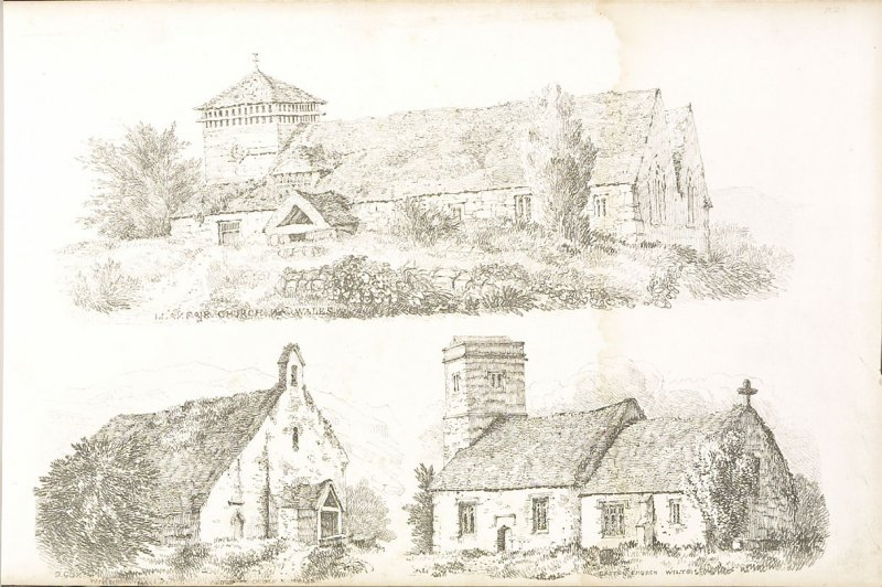 Plate 12 in the book A Treatise on Landscape Painting and Effect in Water Colours…by David Cox (London: S. and J. Fuller, 1814)