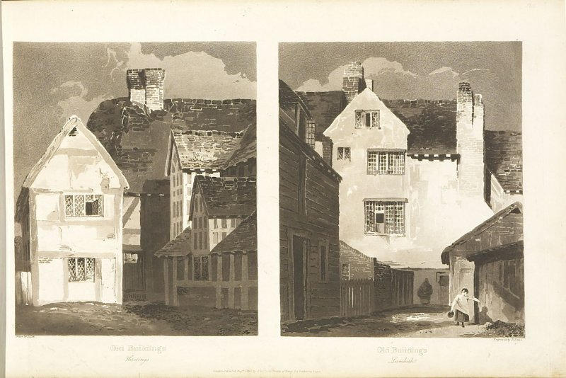 Plate 28 in the book A Treatise on Landscape Painting and Effect in Water Colours…by David Cox (London: S. and J. Fuller, 1814)