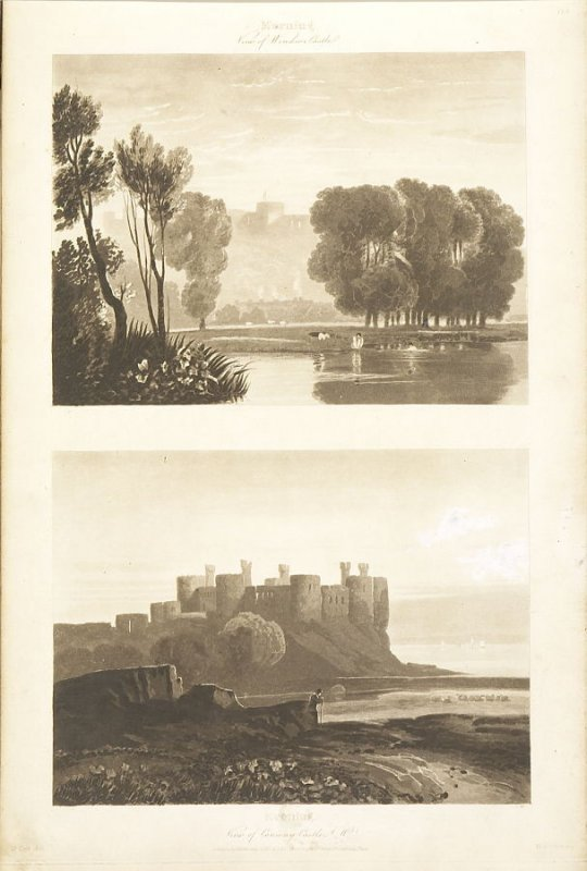 Plate 29 in the book A Treatise on Landscape Painting and Effect in Water Colours…by David Cox (London: S. and J. Fuller, 1814)