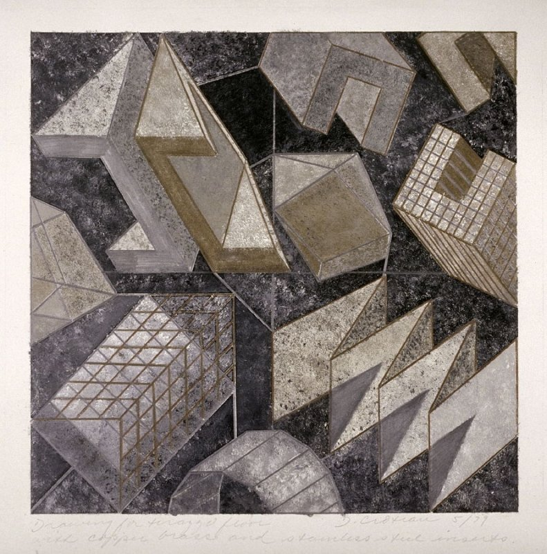 Untitled (design for a terazzo floor)