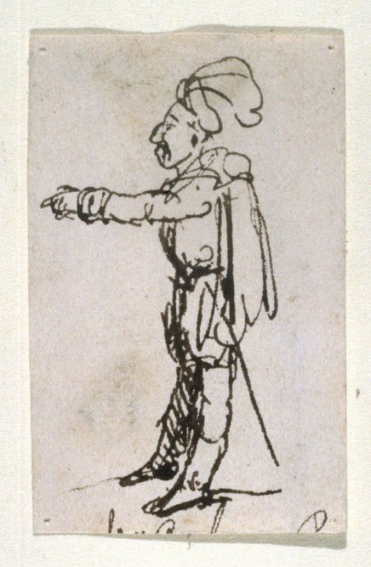 Untitled [Man pointing]