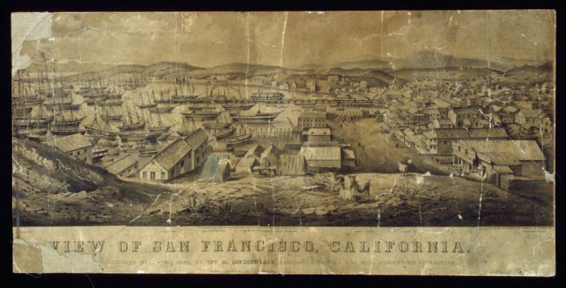 View of San Francisco, California - from Telegraph Hill
