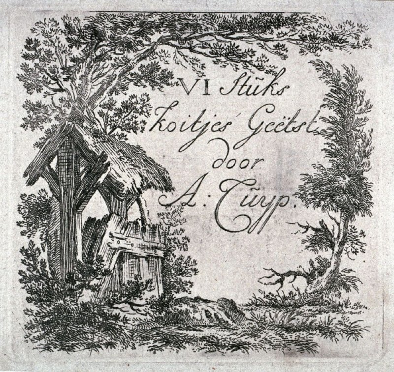Title page: The set of the cows