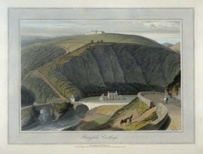 Berrydale, Caithness from Ayton's 'Voyage Round Great Britain' (London, 1814-1825) Vol.V