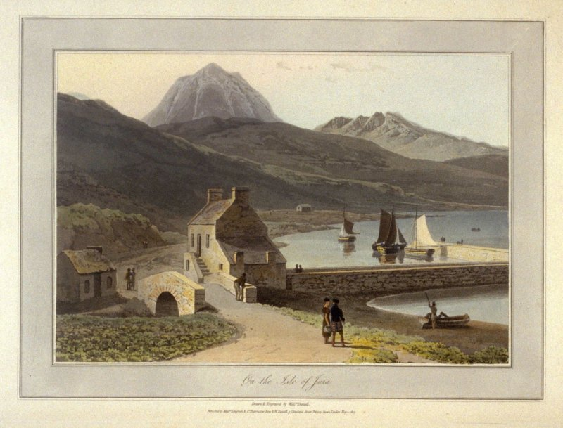 On The Isle of Jura, from Ayton's 'Voyage Round Great Britain' (London, 1814-1825) Vol.III