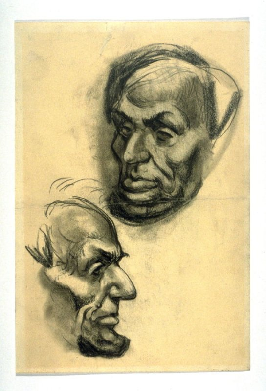 Two Studies of Abraham Lincoln