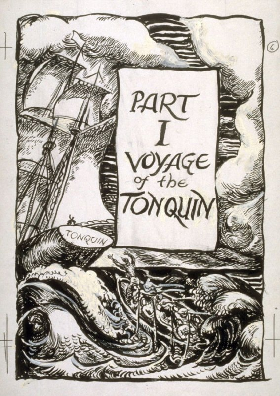 Part I Voyage of the Tonquin - Illustration for Trappers and Traders of the Far West