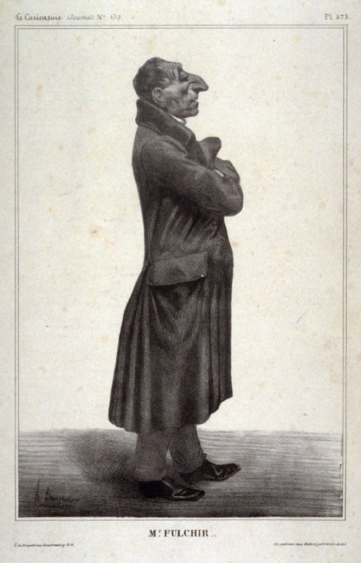 J. Claude Fulchiron plate no. 273 published in La Caricature, 16 May 1833
