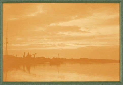 Calm Evening, Poole Harbor from Studies on Land and Sea