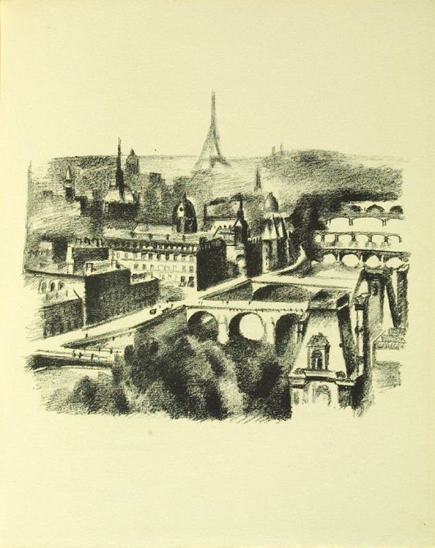 Untitled, pg. 15, in the book Allo! Paris! by Joseph Delteil (Paris: Éditions des Quartes Chemins, 1926)