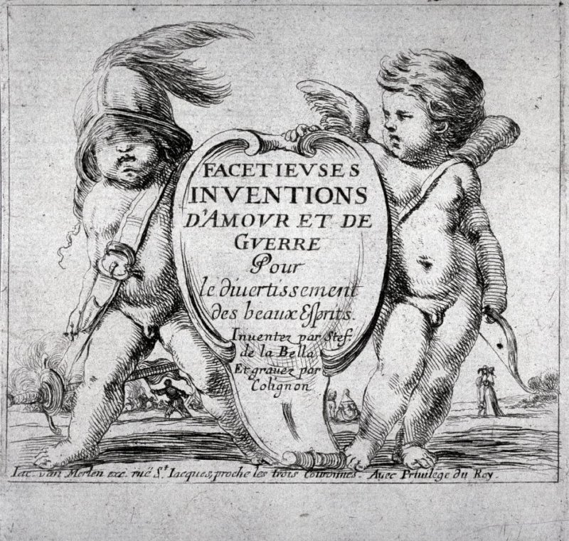 Frontispiece from the series Facetieuses Inventions D'amour Et De Guerre