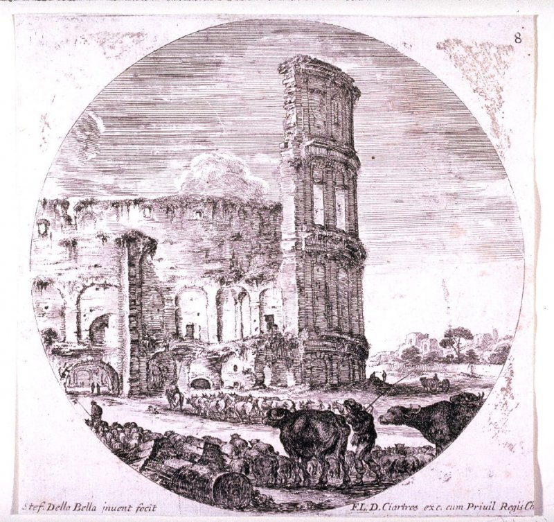 The Colosseum, from the series Landscapes and Ruins of Rome