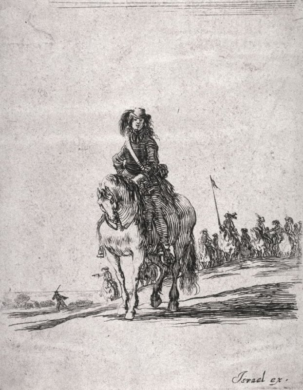 Soldier on Horseback, from the series Divers exercices de cavalerie