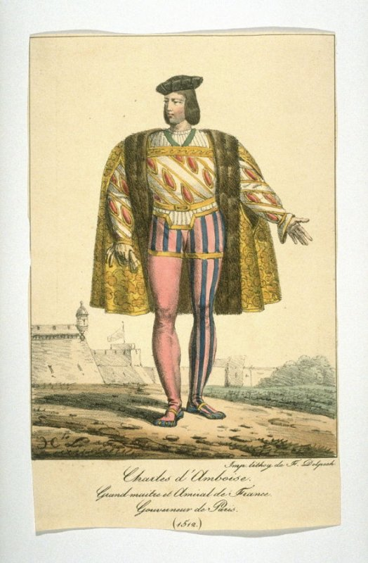 Charles of Amboise, Grandmaster and Admiral of France, 1512
