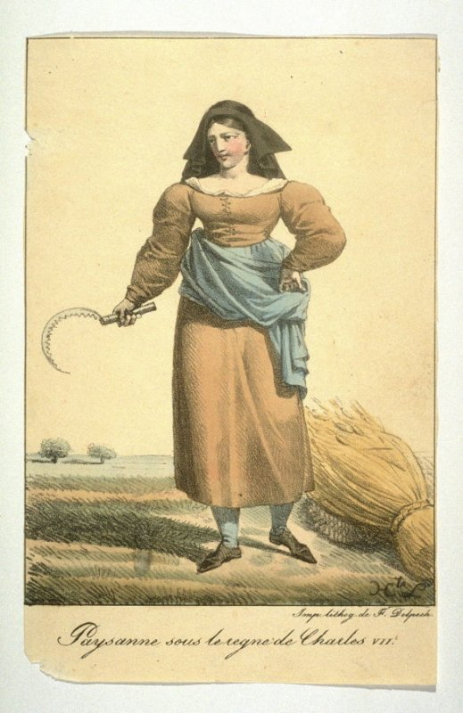 Peasant woman in the reign of Charles VII