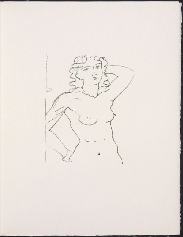 """Buste de femme"" by André Derain, pg. 101, in the book Souvenirs et portraits d'artistes (Reminiscences and Portraits of Artists) by Fernand Mourlot (Paris: Alain c. Mazo, 1972 and in New York: Léon Amiel, 1972)."