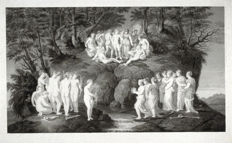 The Muses and the Pierides