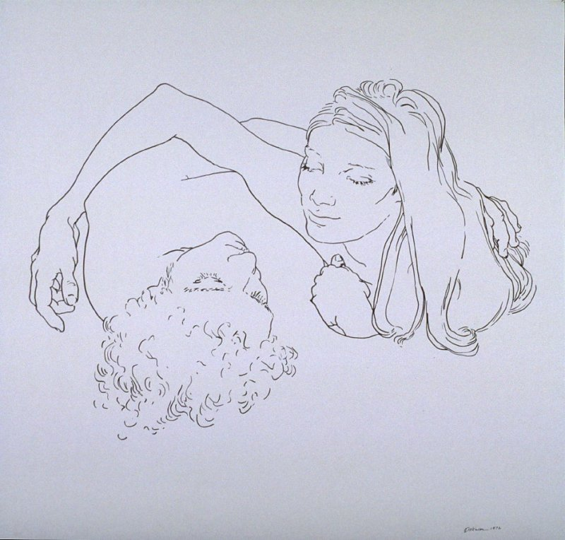 Untitled [Figure drawing]
