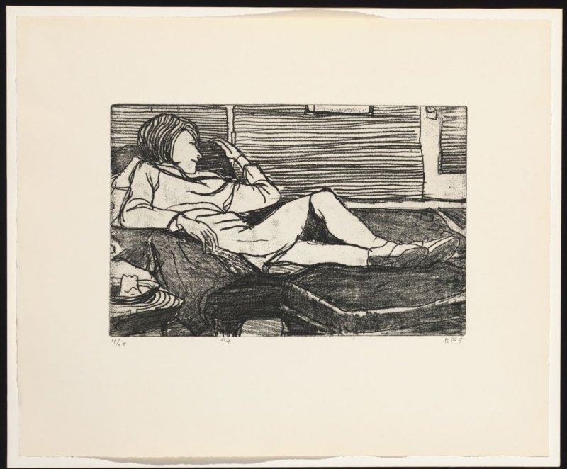 #4 (Phyllis), from the portfolio 41 Etchings Drypoints
