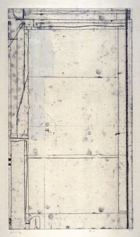 Working proof 1 for pl. 6, from the portfolio, Six Softground Etchings
