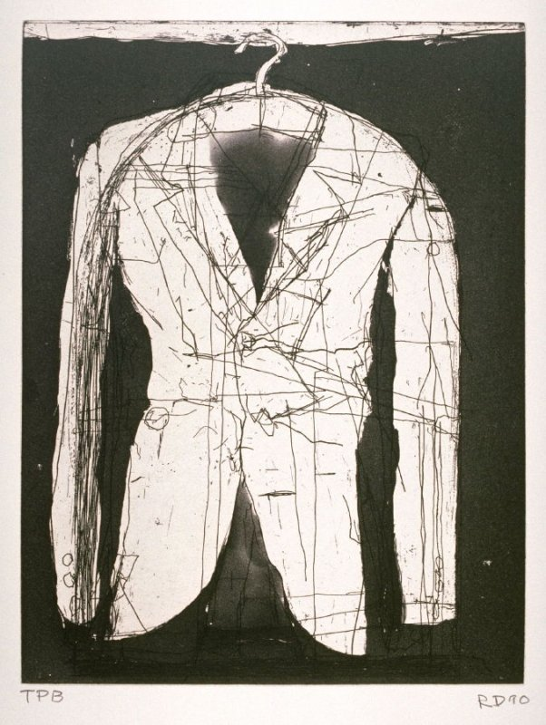 Coat II, illustration for the book Poems of W. B. Yeats (San Francisco: Arion Press, 1990)