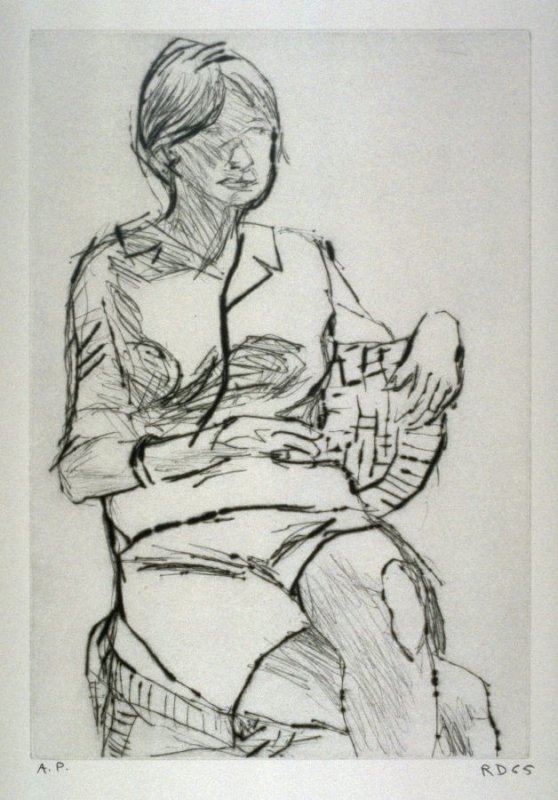 Untitled Figurative (Woman Wearing Shorts)