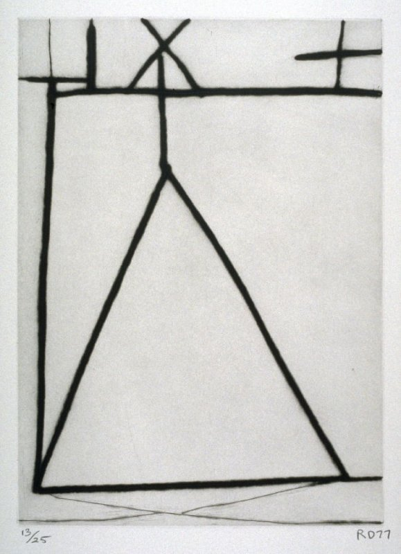 #2 from the portfolio, Nine Drypoints and Etchings