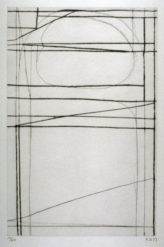 #4 from the portfolio, Nine Drypoints and Etchings