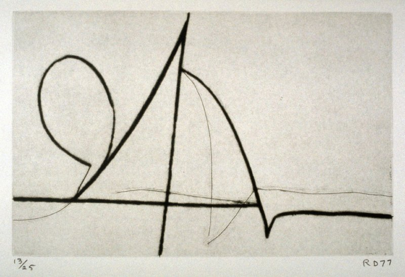 #5 from the portfolio, Nine Drypoints and Etchings