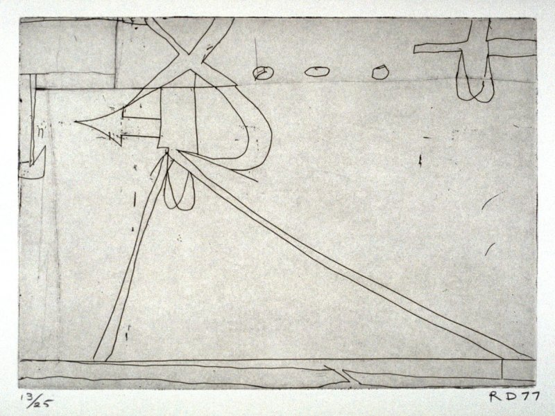 #6 from the portfolio, Nine Drypoints and Etchings