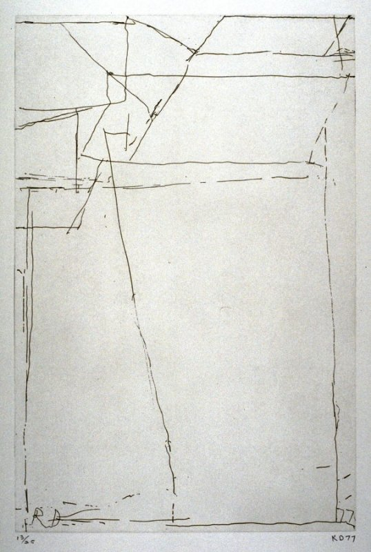 #8 from portfolio, Nine Drypoints and Etchings