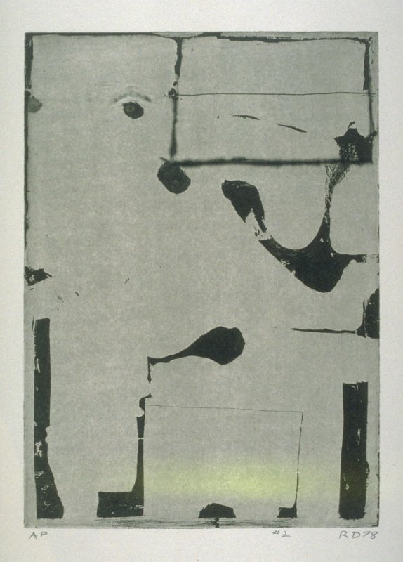 pl. 2, from the portfolio, Five Aquatints with Drypoint