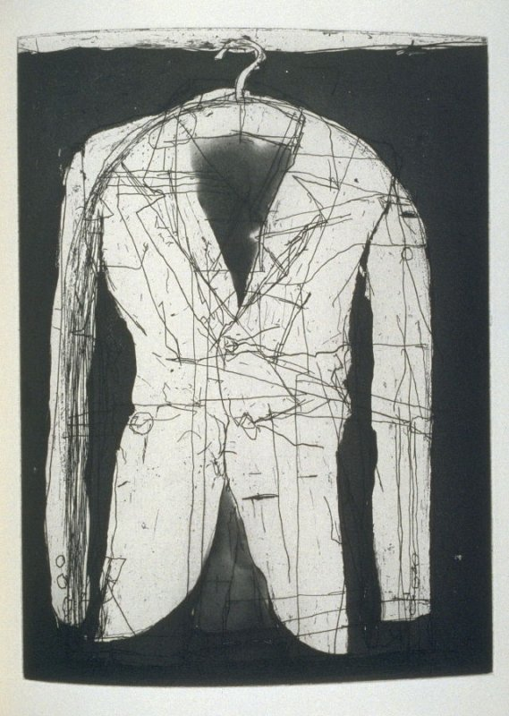Coat II, plate 3 before page 67 in the book Poems of W. B. Yeats (San Francisco: Arion Press. 1990)
