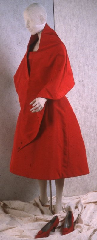 Stole (with evening dress: 1985.44.120a)