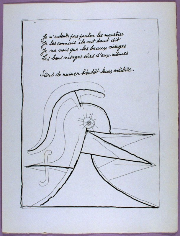 Second Page Of The Poem Bientôt In The Book Poésie Et Verité