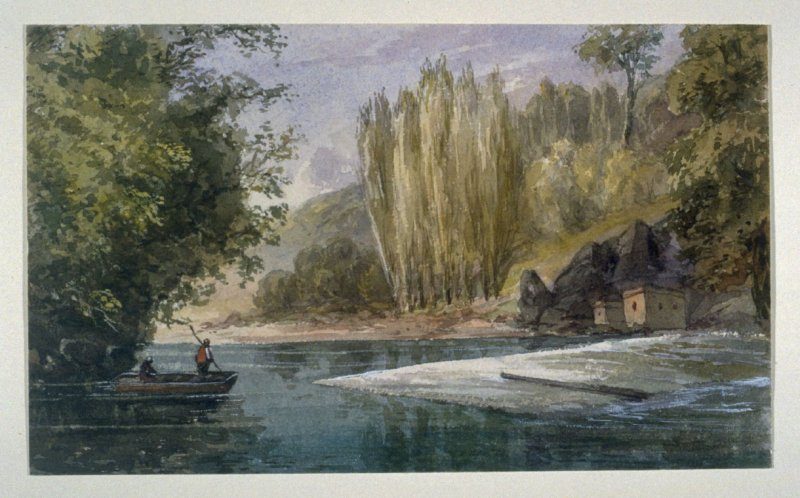 On the River at Quimperlé, Brittany