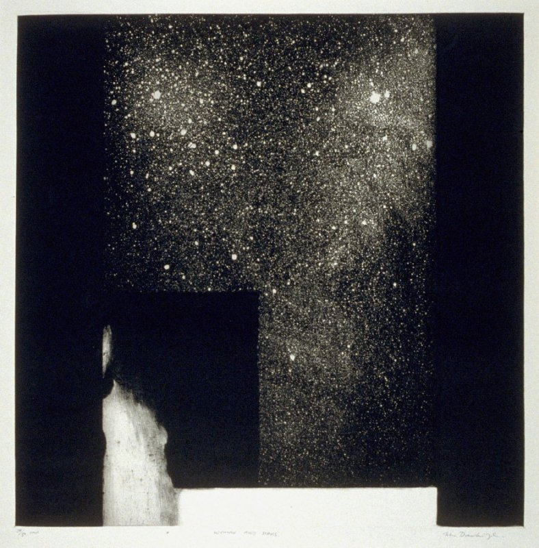 Woman and Stars