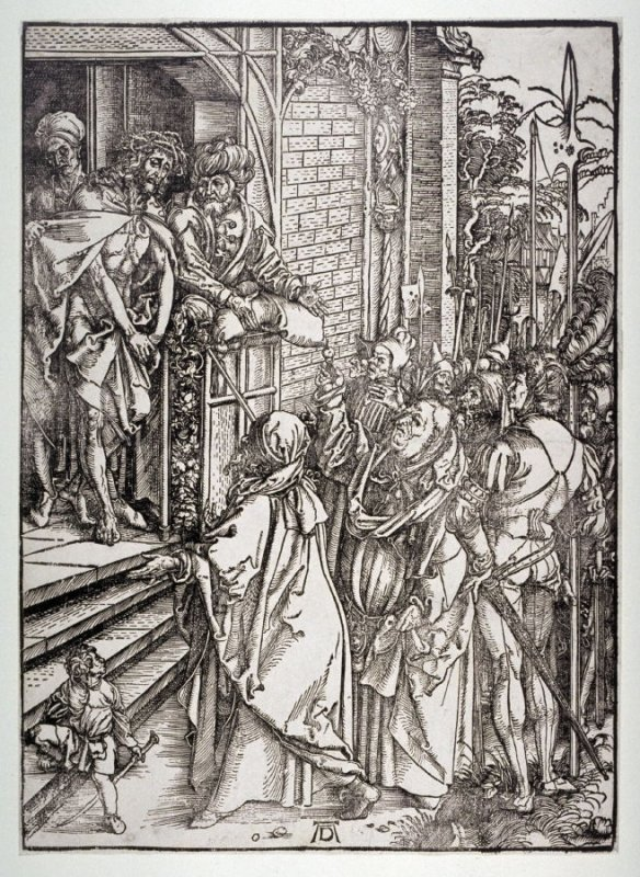 Ecce Homo, sixth plate from the series The Large Passion