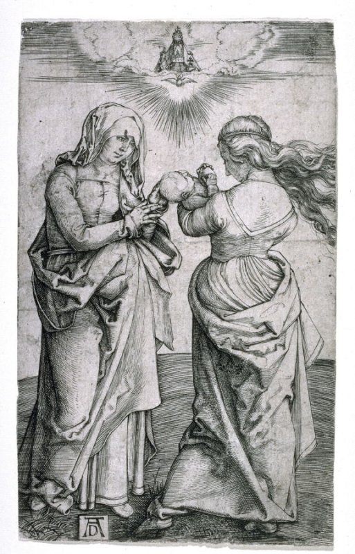 The Virgin with the Infant Child and St. Anne
